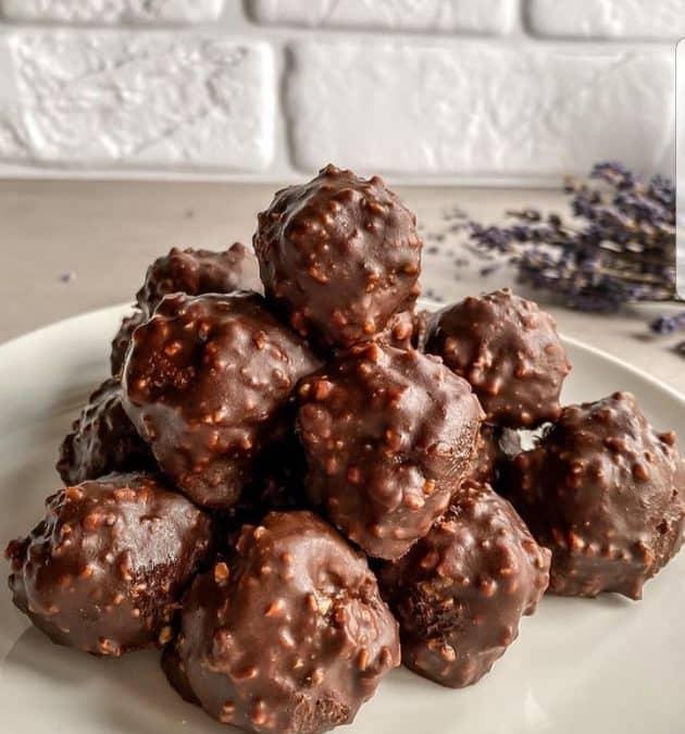 Biluțe Ferrero vegane